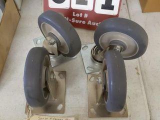 4 Caster Wheels