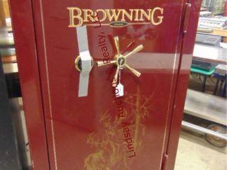 Browning Gold Gun Safe  holds 46 guns  w  combo
