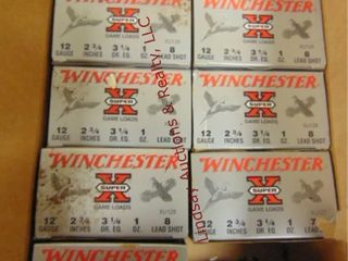 9bxs of Winchester 12ga 2 3 4  shells  225rds