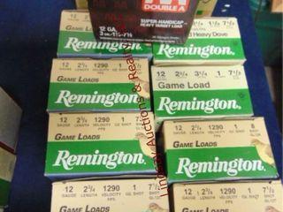 9bxs  remington    1 Winchester  12ga 2 3 4  shels
