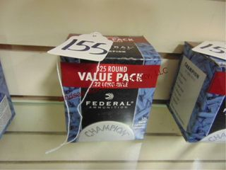 1bx of Federal  22lR  525rds
