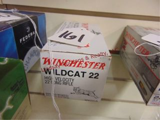 Bx of Winchester Wildcat 22lR  500rds