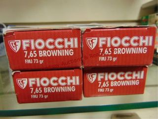 4bxs Fiocchi 7 65 Browning  200rds