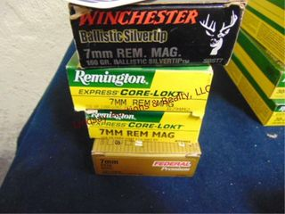 4bxs  Remington  Winchester  Federal  7mm rem mag