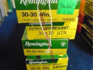 4bxs of Remington 30 30 win  80 rds