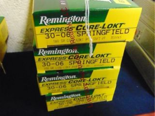 4bxs Remington 30 0 Springfield  80rds
