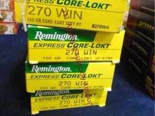 4bxs Remington 270 win  80rds