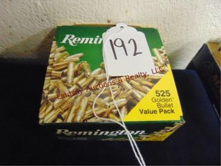 Bx of Remington 22lR  525rds