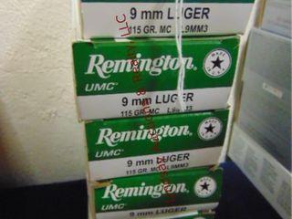 6bxs Remington 9mm luger  300rds