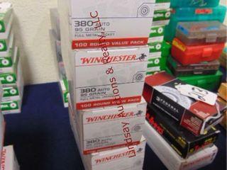 6bxs Winchester 380 auto  600rds