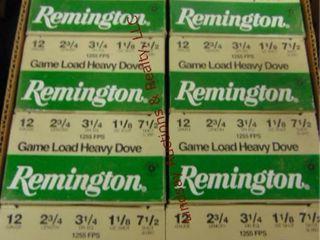 Case of Remington 12ga 2 3 4  shells  250rds