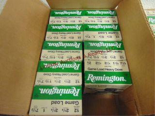 Case of Remington 12ga 2 3 4  shells  225rds