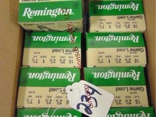 Case of Remington 12ga 2 3 4  shells  200rds