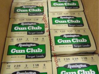 9 bxs Remington 12ga 2 3 4  target shells  225rds