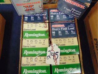 12bxs  Remington Federal  WInchester  16ga