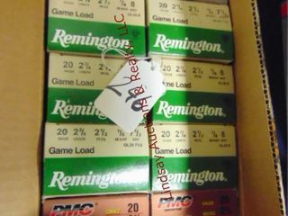 10bxs  Remington PMC  Winchester  20ga
