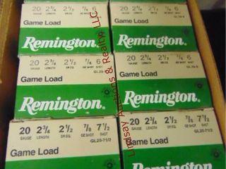 8bxs Remington 20ga 2 3 4  shells  200rds