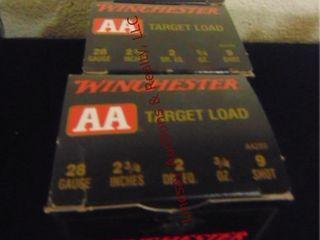 3bxs winchester 28ga 2 3 4  shells  75rds