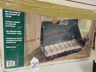 Coleman propane 2 burner stove in box