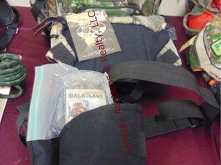 3 various shooting bags