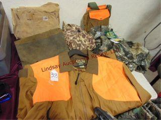 Group of 6pcs Hunting items  carhart pants