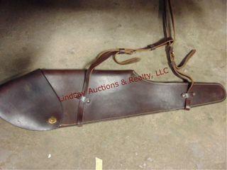 leather gun sleeve