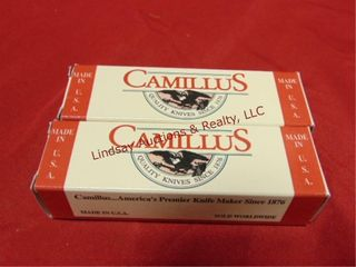 2 NIP Camillus knives