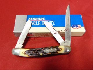 Schrade Uncle Henry knife w  box