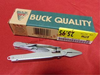Buck knives multi tool w  box   pouch