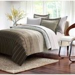 Ombre Stripe 8 piece Bed In Bag TWIN