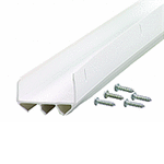 M D Products 06528 36  White Dual Durometer Door Sweep M D Products 06528 36  White Dual Durometer Door Sweep WHITE