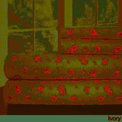 Modern Threads Sweet Rose Printed 4 piece Bed Sheet Set FUll