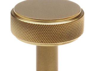 GlideRite 10 Pack 1 1 2 Inch Solid Round Knurled Cabinet Knob Retail 99 99