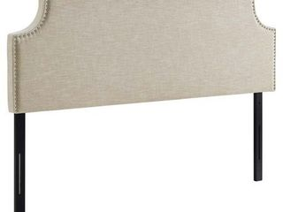 laura King Upholstered Fabric Headboard Retail 173 31 KING SIZE