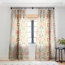 Marta Barragan Camarasa Marbled geometric Mosaic Pattern Blackout Curtain Panel Retail 79 98