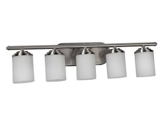 AFX Waterford 8 in  4 light Satin Nickel Vanity light