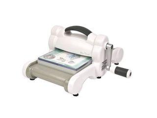 Sizzix Big Shot Machine Only  White   Gray  w Standard Platform Retail 84 99