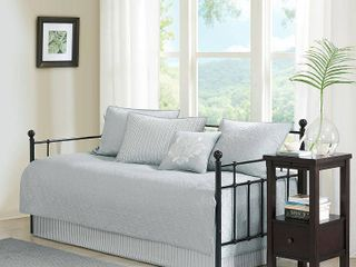 Madison Park Quebec 6 Piece Daybed Bedding Set BeddingGrey