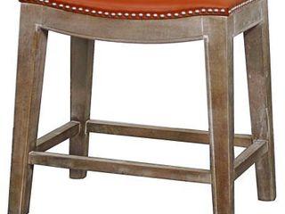 Elmo Saddle Counter Stool