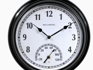 13  Acurite Clock and Thermometer