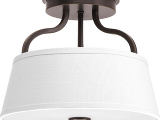 Arden Collection Two light 14  Flush Mount