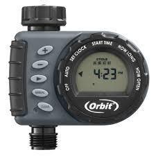 Orbit 1 Dial 1 Outlet Hose Faucet Digital Timer Outlet