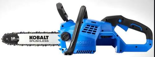 Kobalt 12  24v Brushless Chainsaw