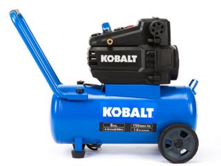 8 gallon Oil Free Kobalt Air Compressor