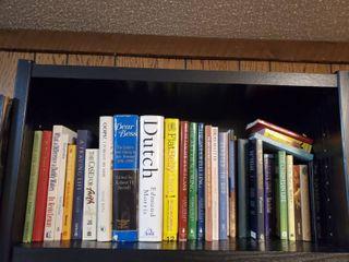 Shelf of Novels and Religous literature