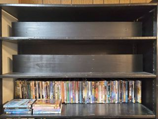 lot of DVDS   50