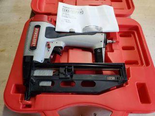 Craftsman 16 Gauge Finish Nailer  Pneumatic  In Case with Manual