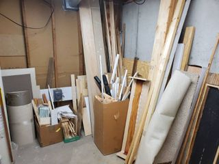 lot of Scrap Wood  Must Take All  Remove by your Own Means