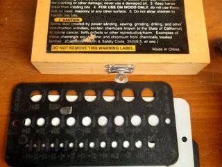 7 pc  Forstener Bit Set