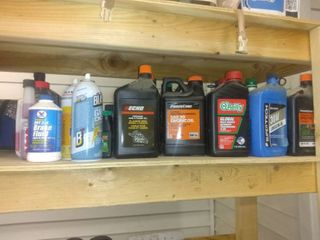 Mega lot Of Various Oils For Cars And Power Tools